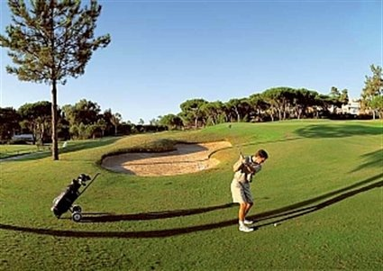 Golfing in Faro, Portugal  The Blue Dragon, Portugale   #visitportugal #carrental #portugalcarrental