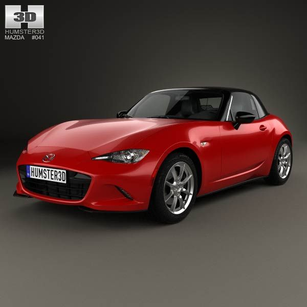mazda mx 5 2015 3d model 3d models and mazda. Black Bedroom Furniture Sets. Home Design Ideas