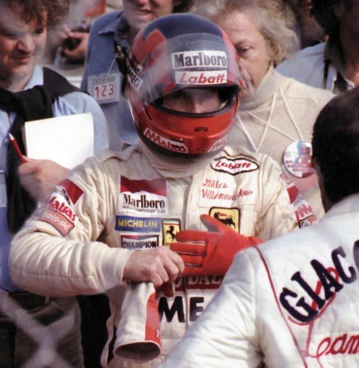 f1 Gilles, (2°) in Montrèal 1979.