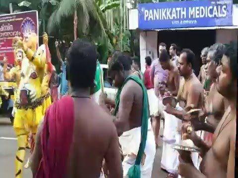 Thrissur Pulikali 2014 During Onam festival