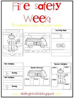 Fire Drill Worksheets Kindergarten