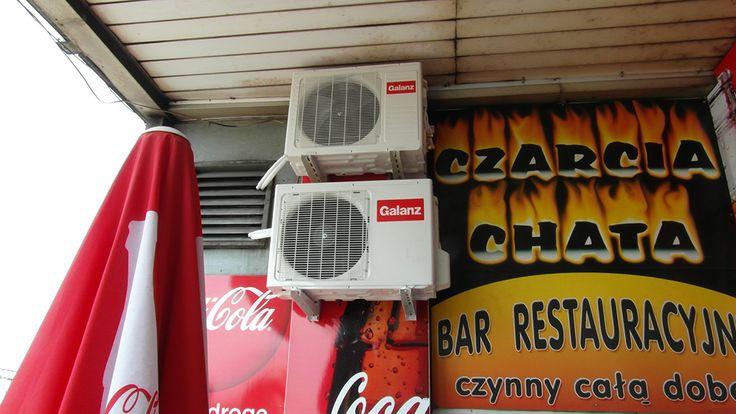 System klimatyzacji do restauracji