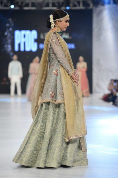 Zara Shahjahan:PFDC Loreal Bridal Fashion Week 2016