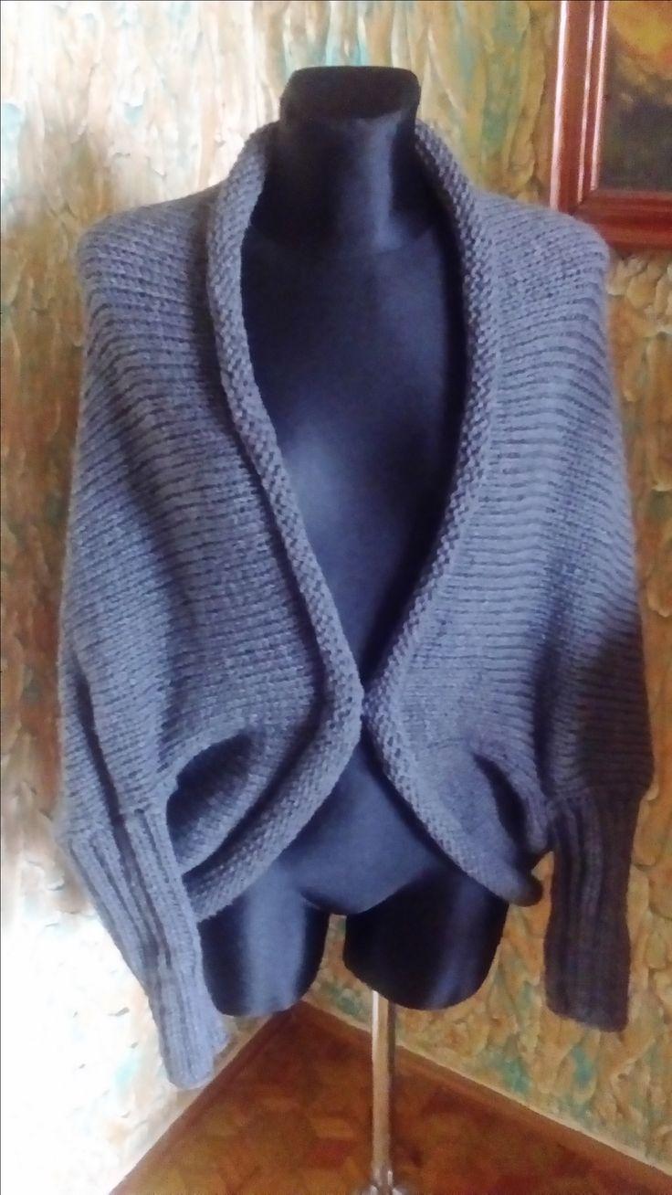 sweterek ''kokon''autorstwa Anna Borowczyk