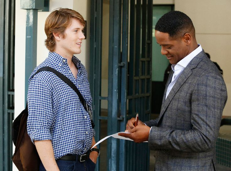 Agents of S.H.I.E.L.D(ABC): Blair Underwood as Dr. Andrew Garner ||   ...Just Revealed Who Lash Is & [SPOILER] Is Relieved the Secret Is Finally Out  Spencer Treat Clark, Blair Underwood, Agents of S.H.I.E.L.D.