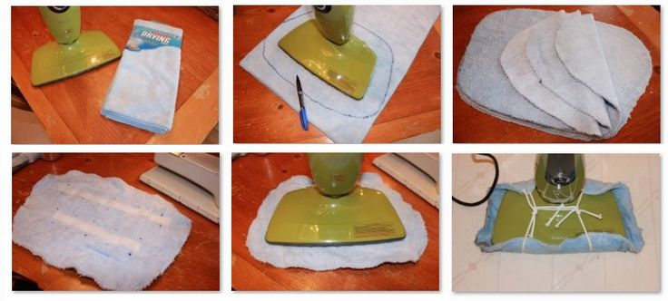 Make Your Own Steam Mop Cleaning Pad.