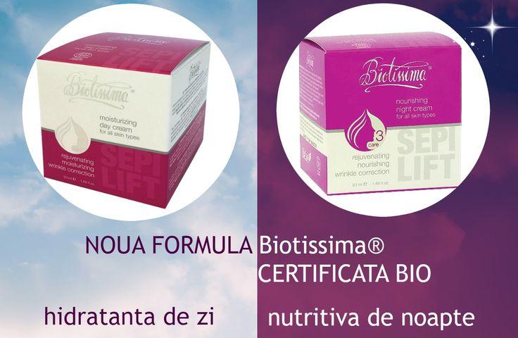 Biotissima NEW Formula - imbogatita cu uleiuri esentiale de protectie, hidratare si regenerare a pielii