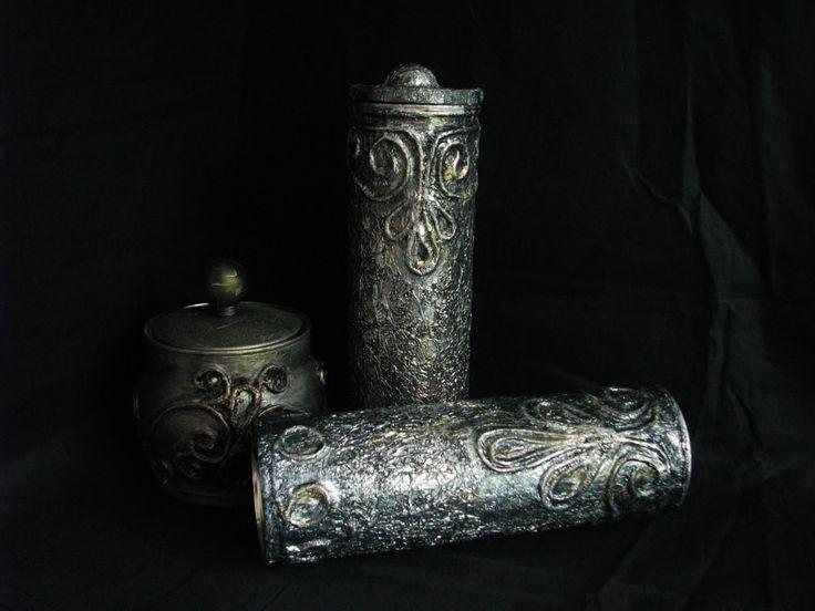 Jak wykonać pojemniczek imitujący stare srebro - Pomysły plastyczne DiY ...