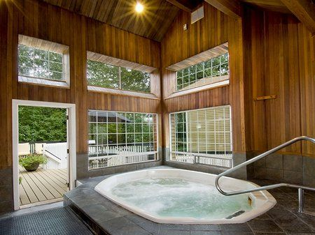 Indoor hot tubs. http://www.freshinterior.me/indoor-hot-tubs/