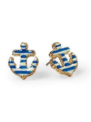 Betsey Johnson Anchor Stud Earring | Piperlime: Style, Betseyjohnson, Anchors Earrings, Studs Earrings, Things, Johnson Anchors, Accessories, Betsey Johnson, Anchors Studs
