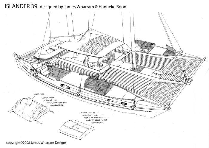 Islander 39 - 3D sketch
