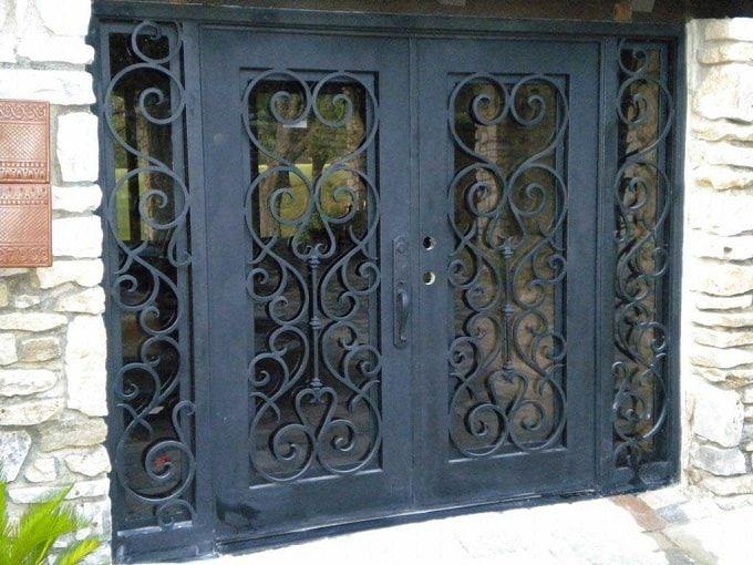 Is Door Opening Outwards Bad Feng Shui Wrought Iron Doors Iron Security Doors Wrought Iron Security Doors