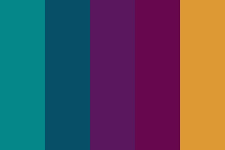 Jewel Tones Color Palette