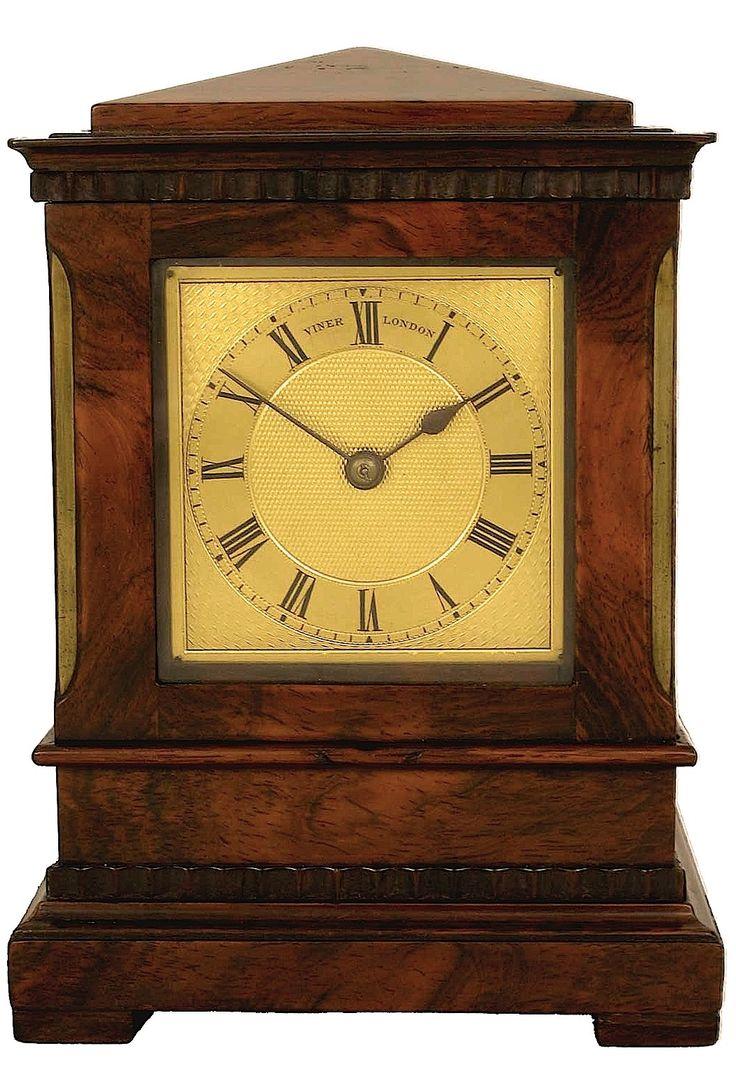 Viner, London. No. 630, Mantel clock - Montpellier Clocks
