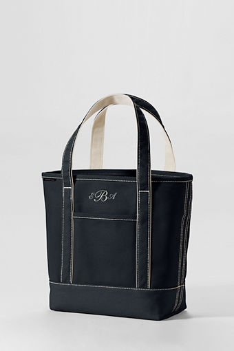 medium colored open top tote bag from lands 39 end my style pinterest land 39 s end bags and. Black Bedroom Furniture Sets. Home Design Ideas