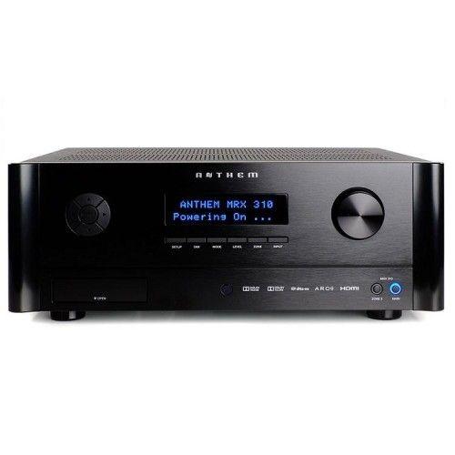 RECEPTOR AV ANTHEM – MRX 310. Receptor multicanal home cinema 5 x80 w. Control IP y RS232, aplicación de mando a distancia para Apple y Android. #ReceptorAV #Anthem #homecinema