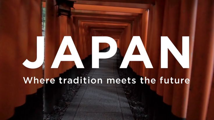 JAPAN - Where tradition meets the future