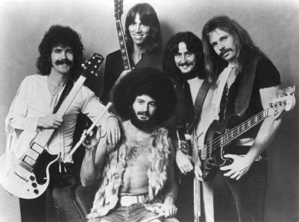 Boston the Music Group photo, Boston Classic Rock, Brad Delp, Tom Scholz, Barry Goudreau (1977)