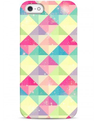 Квадраты - iPhone 5 / 5S / 5C Дизайнерские чехлы для iPhone #Sahar cases #чехлы для iPhone