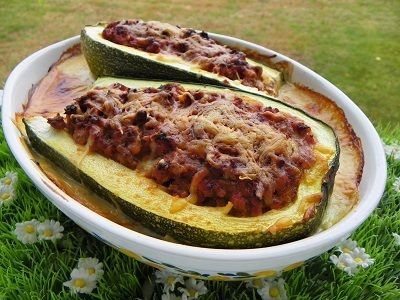 Courgettes farcies a la viande hachee thermomix cuisine pinterest thermomix and as - Courgette farcie thermomix ...