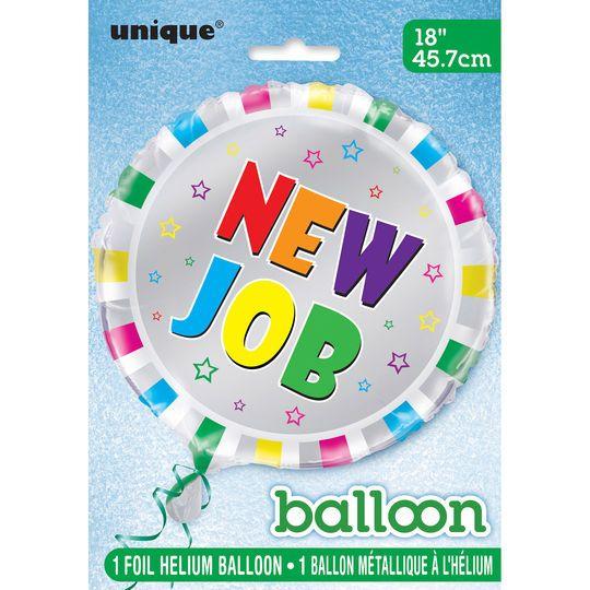 """Foil New Job Congratulations Balloon, 18"""""""