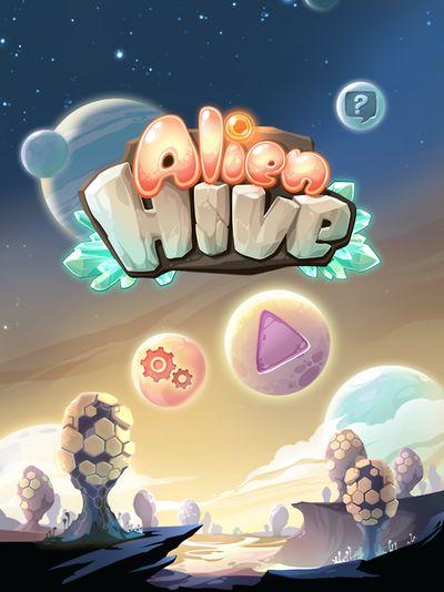 Alien hive splash