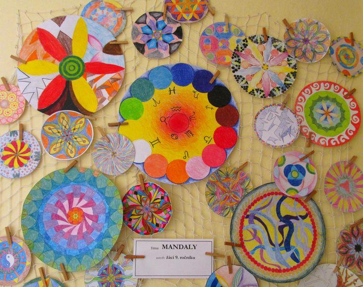 Mandala výtvarná výchova elementary art