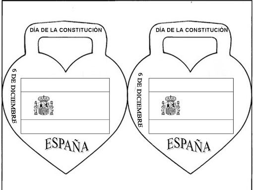 Maestra de Infantil: Cuento de la Constitución española para Educación Infantil. Dibujos para colorear.