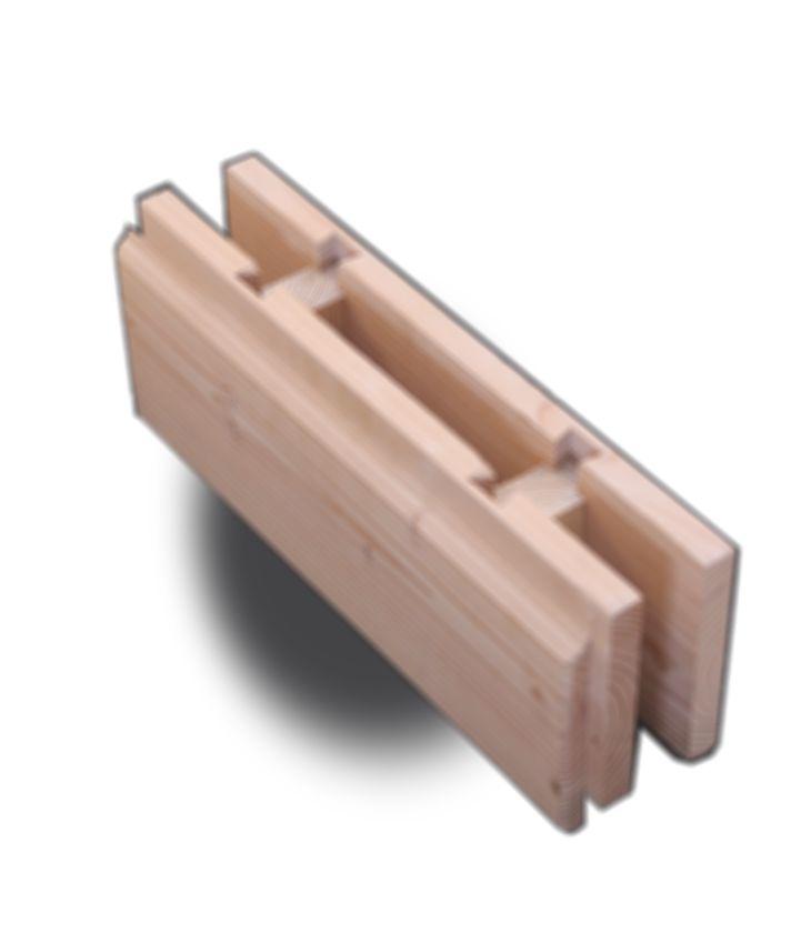 Brikawood - La brique en bois qui se monte sans clou, ni vis, ni colle