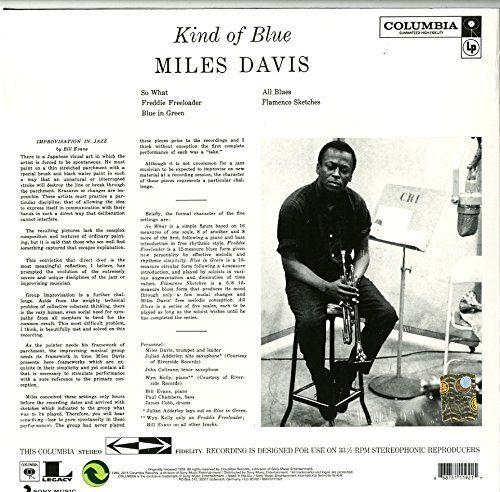 Kind Of Blue [Vinyl LP] - Miles Davis: Amazon.de: Musik