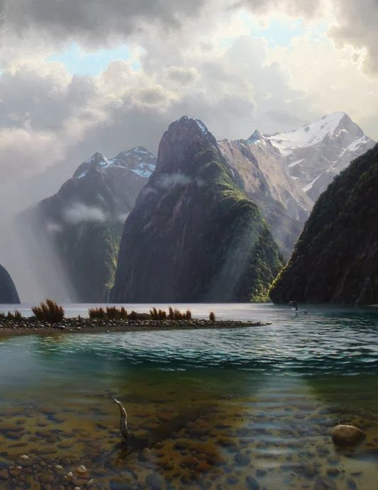Milford Sounds, New Zealand: