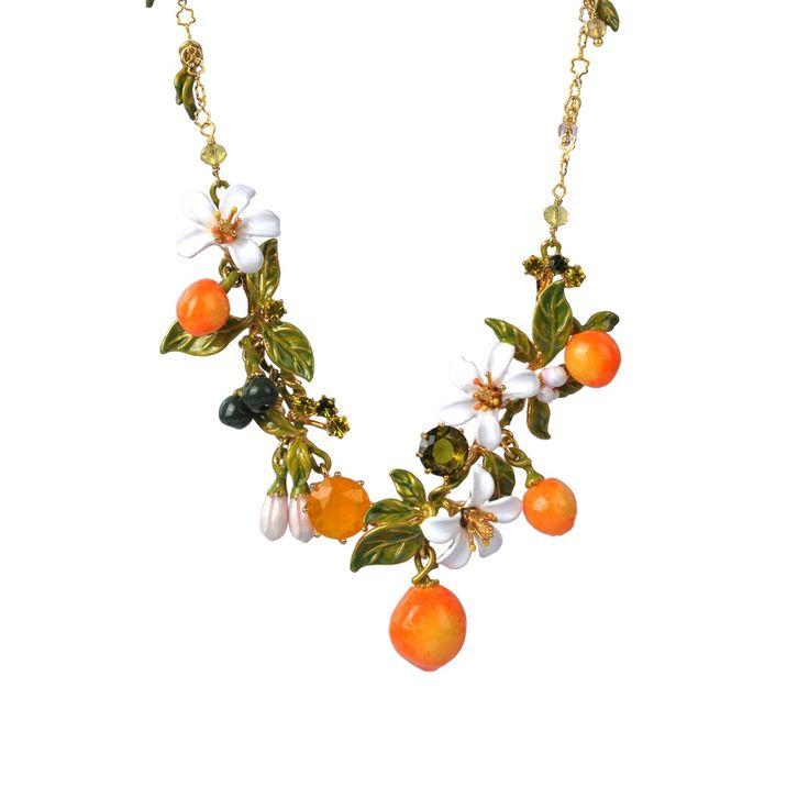 Les n r ides jardins de provence necklace les nereides for Jardin francais jewelry