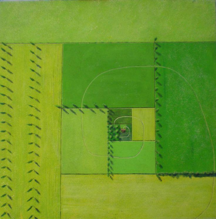 361 - Acrylic on canvas, 100 x 100 Cm.