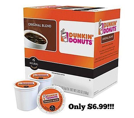 Dunkin' Donuts K-Cup® Pods, Original Blend Regular 16-Count only $6.99!!! - http://dealmama.com/2016/04/dunkin-donuts-k-cup-pods-original-blend-regular-16-count-6-99/