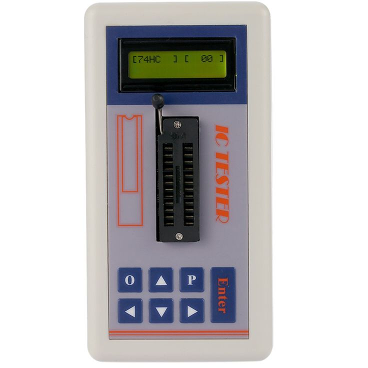 Multi-functional Transistor Tester Integrated Circuit IC Tester Meter Maintenance Tester MOS PNP NPN Detector 3.3V/5.0V/Auto Search Mode