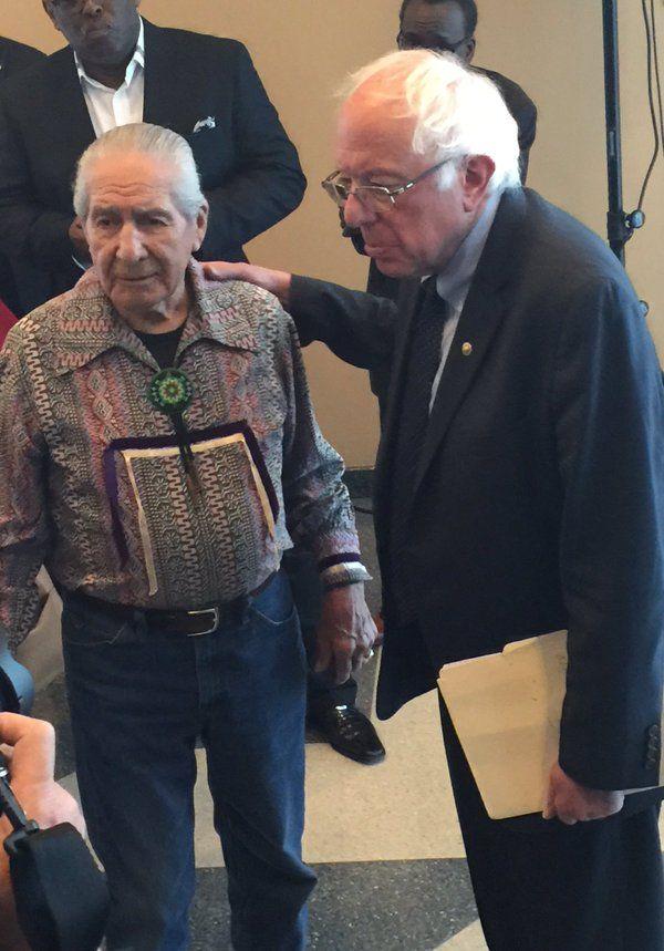Sen. Bernie Sanders Reacts to President Trump's Memorandum to Advance Keystone XL & Dakota Access Pipelines - Native News Online