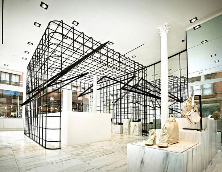 Alexander Wang Flagship Store By Kramer Design Group New York Soho