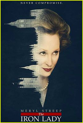 Meryl Streep as Margaret Thatcher in The Iron Lady!