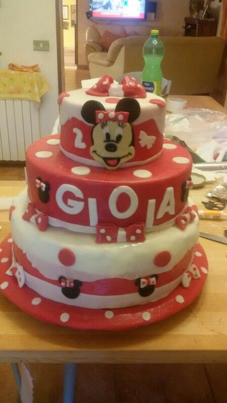 Torta Minnie wow❤