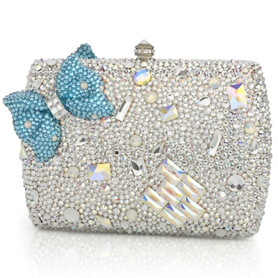 VIDA Statement Clutch - Bejeweled Beauties I by VIDA 6rxeiP