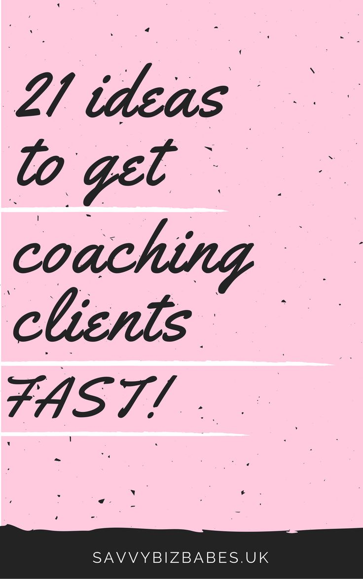 21 ways you can get more clients to make money online and grow your business! Click through to read the post and click save for later!