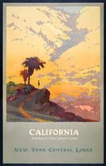 Print Collection - California, America's Vacationland, New York Central Lines