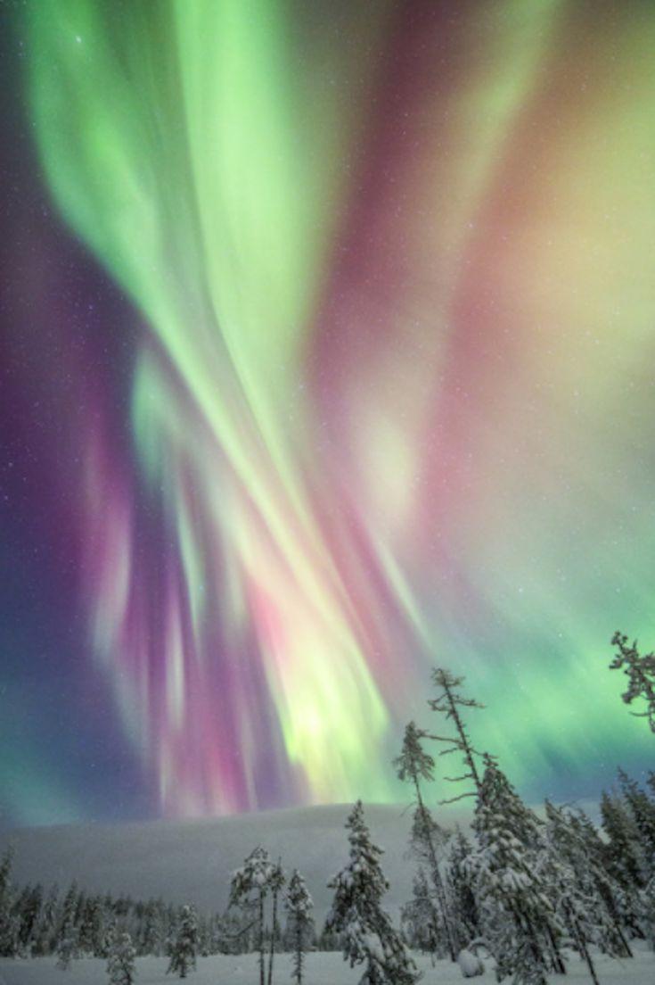Des photos magiques de lhiver en Finlande sous les aurores boréales par Tiina Trmänen  2Tout2Rien