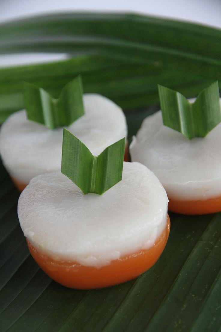 Yuk mari dilirik Kue Talam Ubi. Bertekstur lembut berbahan tepung ketan dan tepung beras. Cocok juga lho buat berbuka puasa