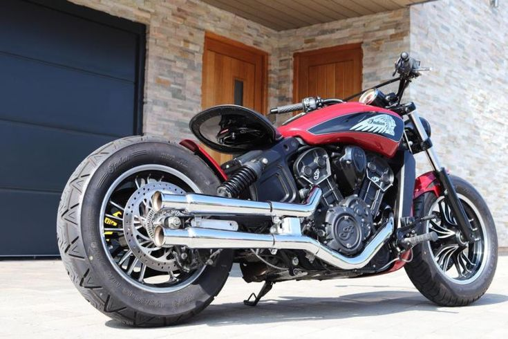MSR INDIAN SCOUT CUSTOM BOBBER SIXTY 60 MOTORCYCLE