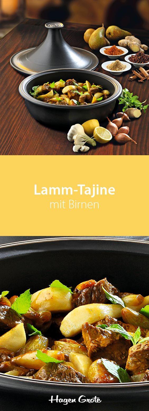 Lamm-Tajine mit Birnen