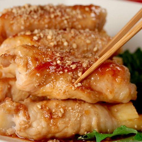 シャキ旨♪「長芋の豚肉ロール」ならお弁当おかずにピッタリ☆ | クックパッドニュース