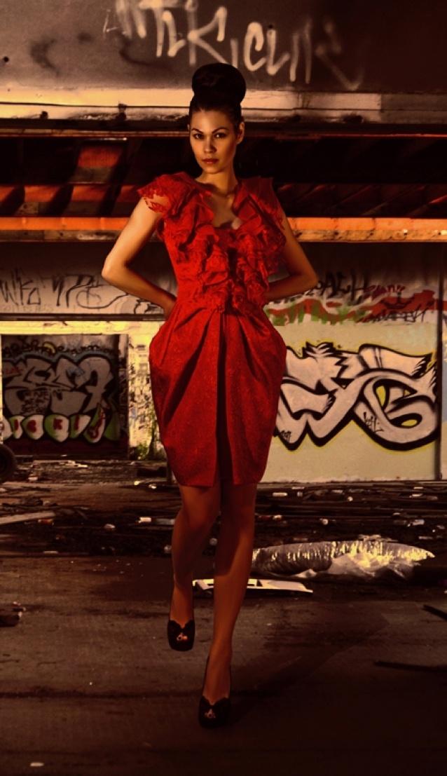 Calista dress by Denis Predescu  Buy it: http://shop.inspirare.com/items/calista-dress