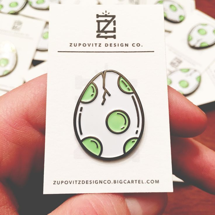 Image of Yoshi Egg Pin