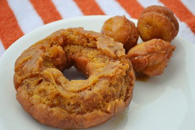 Pumpkin Spice Doughnuts Recipe in Chic and Crafty, Dessert Recipes, Fall, Recipes